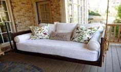 Závěsná houpací lůžka domů, na terasu i na zahradu