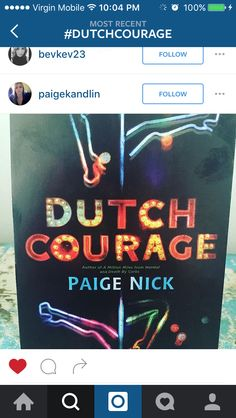 Awesome other Paige - Paige Kandlin Syndercome, I see you shaking your #DutchCourage over on Instagram. <3