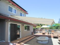 Retractable Awnings Come In Thousands Of Color And Style Combinations Motorized Are Powered By