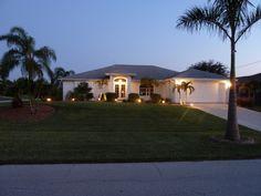 Villa Palm Island -Abenddämmerung-