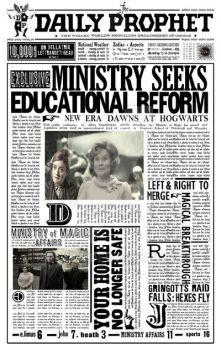 Daily Prophet: Ministry seeks educational reform