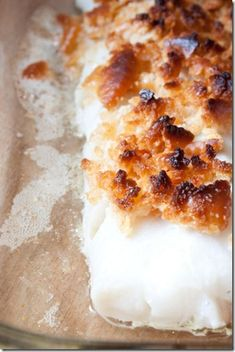 New England Butter Crumb Baked Cod