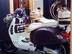 Vespa Montiano Bottega Conticelli  Bangkok 2014  Only dreams come true