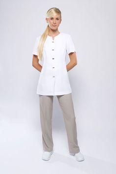 Free scrub shirt pattern scrubs medical nursing for Spa uniform patterns