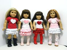 American Girl Doll Play: Some Valentine's Day Inspired Etsy Finds