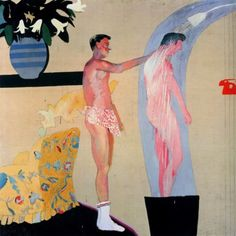 David Hockney, Domestic Scene, Los Angeles 1963