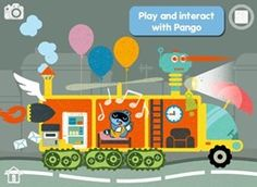 top best apps for kids - Pango imaginary car