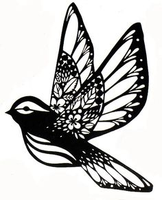 One for paintings produced in the Autumn term and the other shows a collection o… - diy tattoo images Paper Cutting Patterns, Paper Cutting Templates, Paper Patterns, Diy Tattoo, Tattoo Ideas, Silhouette Portrait, Silhouette Art, Paper Owls, Paper Art