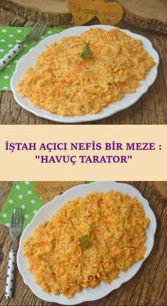 A Delicious Cold To Fit Any Food: Carrot Tarator - Appetizer Recipes Yummy Appetizers, Appetizer Recipes, Turkish Recipes, Ethnic Recipes, Athlete Nutrition, Christmas Appetizers, Iftar, Carrots, Food And Drink