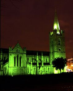 St Patrick`s Cathedral in the Green | Dublin, Ireland