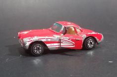 1980s Yatming Red 1957 Chevrolet Corvette w/ Opening Doors Diecast Toy Car No. 1079 https://treasurevalleyantiques.com/products/1980s-yatming-red-1957-chevrolet-corvette-w-opening-doors-diecast-toy-car-no-1079 #Vintage #1980s #80s #Eighties #Yatming #Red #1950s #50s #fifties #Chevrolets #Chev #Chevy #Corvettes #Cars #Diecast #Toys #Collectibles #SportsCars #FastCars #Vehicles