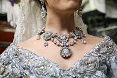 """""""Historically, the Tsarina would have been the most dazzling, and that real gown was covered in real diamonds and pearls. Historically, that dress would have been worth $10 million."""" (Lauren Blackman) (Marc J. Franklin)"""