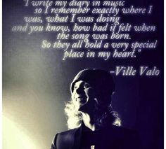 Quote by Ville Valo