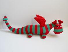 sock dragon | by Treacher Creatures