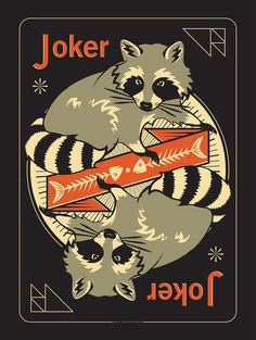 The Woodland Deck - Joker Print from Pocono Modern - Jim Thorpe, PA