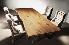 Esstisch Holztisch Massivholztisch Eiche auf Maß | Holzwerk-Hamburg