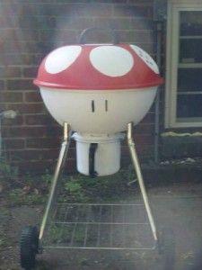 Mario Mushroom Grill