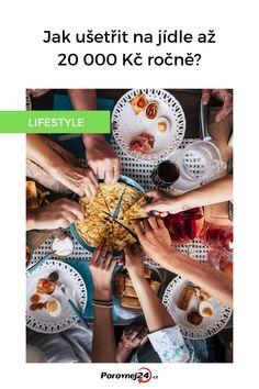 """Ať už se stravujete skromnějším způsobem, nebo si často dopřáváte kaviár a drahé jídlo z restaurací, na jídle můžete ročně ušetřit desetitisíce. Slovní spojení """"jak ušetřit na jídle"""" zní téměř svatokrádežně, my vás však nebudeme nabádat, abyste jedli podřadné blafy. Levně se můžete najíst i zdravých potravin. Cursed Child Book, Finance, Kawaii, Finance Books, Economics"""