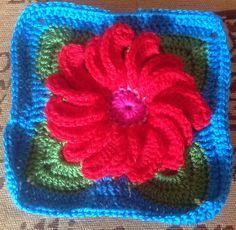 Ravelry: BettinaCrochet's Gerbera Pillow