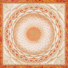 Mandalas.com--The Art of Paul Heussenstamm (Orange Crush)