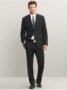 Here's my black suit...