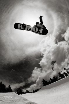 Ethan Morgan eclipses the sun with this halfpipe air at Mammoth Mtn. Eclipse by Tim Peare, via 500px