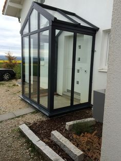Image result for glass lean to porch