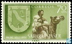 1956 Spanish Sahara - Stamp day