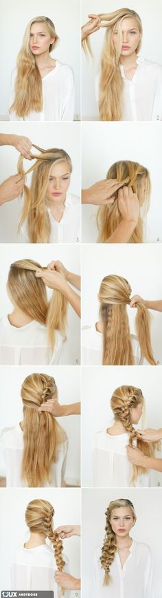 Hair Tutorial in steps