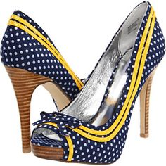 Makes me want to wear a little yellow apron  and put on a little hair scarf...looks like Lucy's shoes