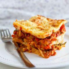 Easy Peasy and Cheesy Vegetable Lasagna
