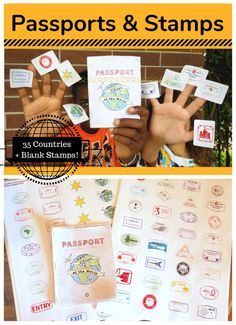Having an International Night? Studying different countries? Reading your way around the world? THESE are the stamps and passports you were looking for.