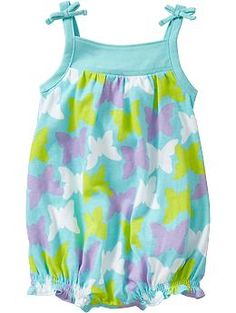 Bubble one-piece with butterfly print at oldnavy.com