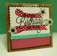 STAMPIN' UP!'S ANOTHER GREAT YEAR, FRESH PRINTS DSP STACK, PETITE PETALS