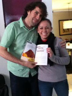 Con Gaby Salas mi Amiga y Editora de FIANCEE REVISTA DE NOVIAS, me dio mucho gusto verte y platicar Contigo!! buena vibra!!! 14/dic/12  https://www.facebook.com/photo.php?fbid=399086960169935=a.257007834377849.59922.119318758146758=3