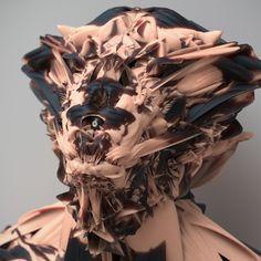 Diese psychedelischen Selbstporträts schicken euch auf einen besonders surrealen Trip   The Creators Project
