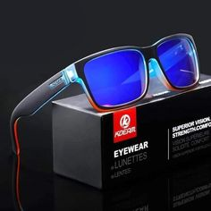 Polarized u-v sunglasses is the yin to your yang then you've found what you're looking for