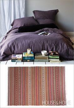 linen & navajo ... great colours