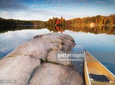 View top-quality stock photos of Canoe At A Rocky Shore Of Lake George Beautiful Sunset Fall Nature Scenery Killarney Provincial Park Ontario Canada. Find premium, high-resolution stock photography at Getty Images. Beautiful Sunset, Beautiful Places, Beautiful Scenery, Niagara Region, Rocky Shore, Lake Huron, Autumn Nature, Lake George, Lake Superior