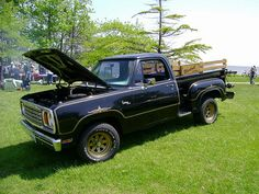 1977-78 Dodge D-100 Warlock by splattergraphics, via Flickr
