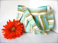 Everyday Purse  Amy Butler Daisy Chain Happy Stripe $42.00