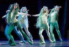 ballet mermaids