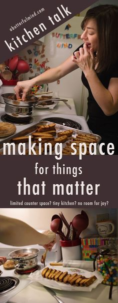 Kitchen Talk - Making Space for Things That Matter