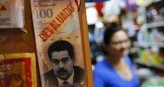 El billete de más alta denominación de Venezuela, el de 100 bolívares, equivale a 9 centavos de dólar. Por eso, algunos economistas han apuntado que en el