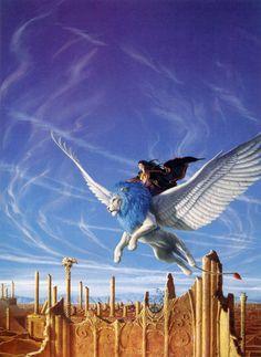 The Art of Michael Whelan | Fantasy art #Illustration @deFharo