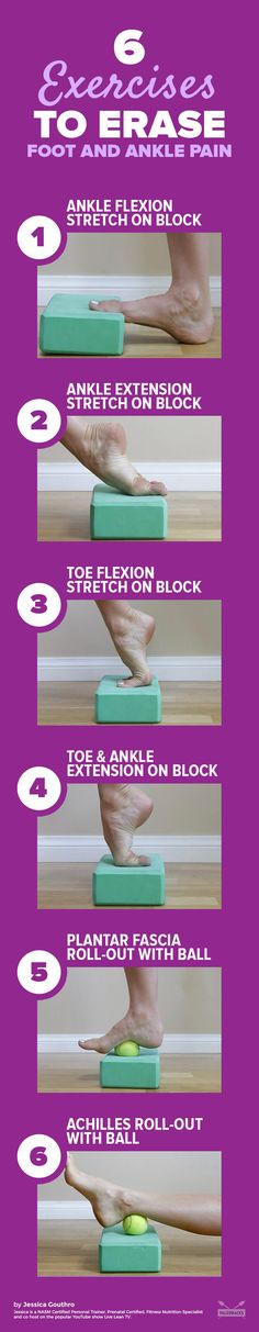 If you suffer from achy feet, try this soothing DIY foot massage and ankle stretch.
