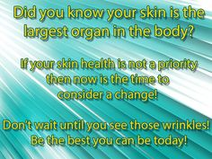 Be proactive about your skin health!