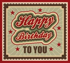 Happy Birthday TO YOU tjn