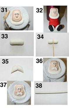 Santa Topper Picture Tutorial Part 5