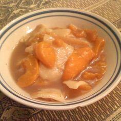 Mom's Homemade Peach Dumplings